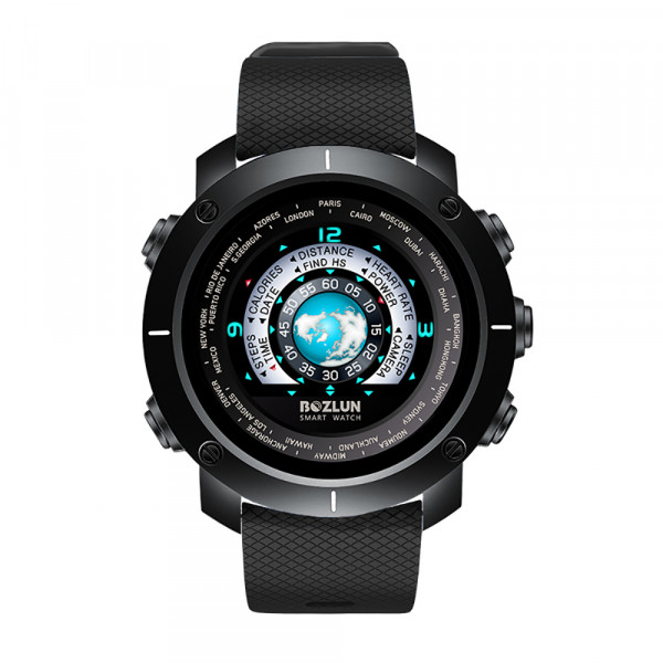 3D UI Smart Watch, Bluetooth 4.0, IP67 W...