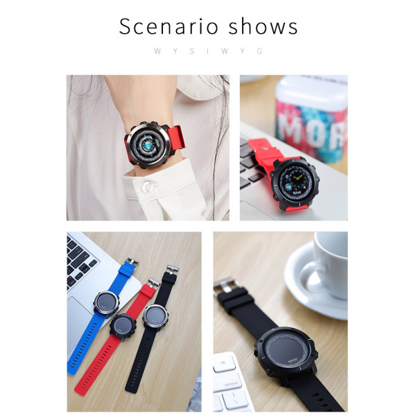 3D UI Smart Watch, Bluetooth 4.0, IP67 Waterproof, Photoelectric Sensor, GPS Track, Heart Rate Monitor Smartwatch