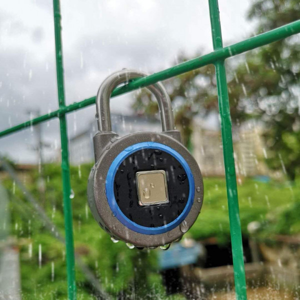 Fingerprint Padlock, Bluetooth Connectio...